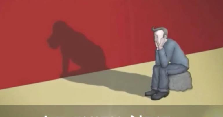 """La dépression, description de la maladie par la métaphore du """"chien noir"""""""